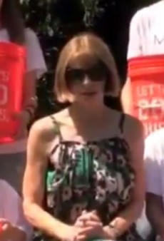 VERY IMPORTANT: Anna Wintour Does the ALS Ice Bucket Challenge