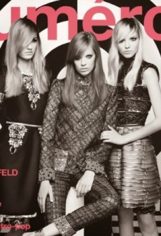 Karl Lagerfeld Shoots Numéro's September Covers, All Five of Them (Forum Buzz)