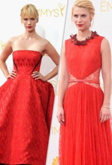 The Emmys 2014 Red Carpet Was Very, Very Red