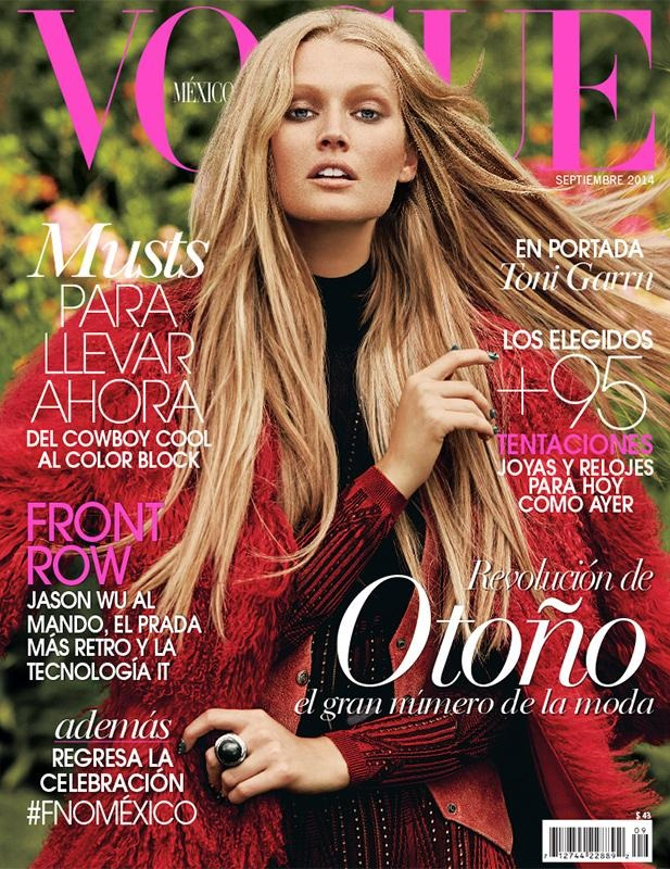Vogue Mexico September 2014 Toni Garrn