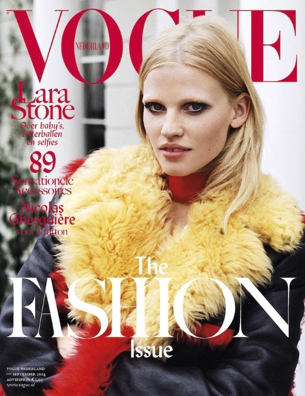Vogue Netherlands September 2014 Lara Stone Angelo Penetta