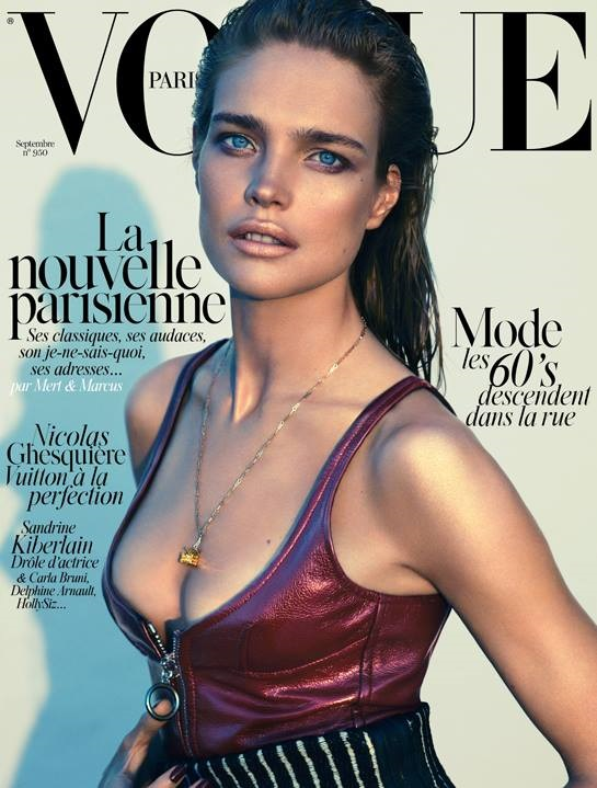 Vogue Paris September 2014 Natalia Vodianova Mert & Marcus
