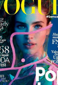 Vogue Turkey's September Cover Is 'Fun and It Jumps Out at You' (Forum Buzz)