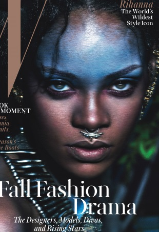 w-magazine-september-2014-rihanna-mert-and-marcus-portrait