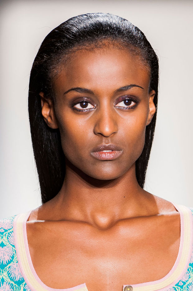 Sophie Theallet Spring 2015 beauty look