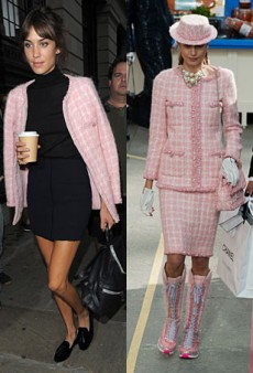 Runway to Real Life: Alexa Chung in Chanel, Anna Dello Russo in Saint Laurent and More (Forum Buzz)