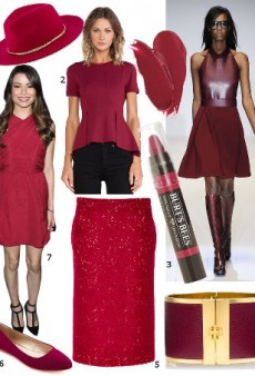 Hues for Fall: Shades of Pink and Red