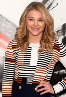Chloë Grace Moretz Nails Nautical Chic in Kenzo