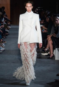 Heavenly Structures at Ellery's Paris Fashion Week Spring 2015 Show