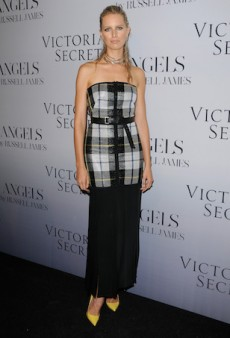 Karolina Kurkova Toughens Up in Camilla & Marc