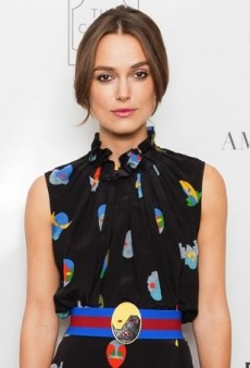 Keira Knightley Poses in an Eccentric Stella McCartney Dress