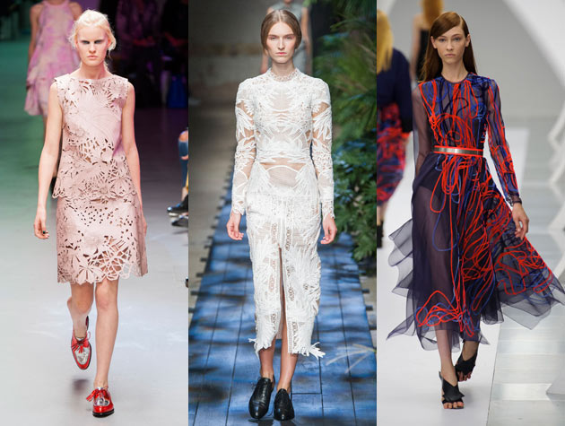 2015 Spring Fashion Shows LFW Spring Hits