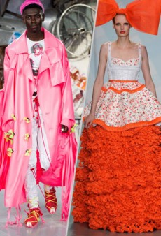 The 7 Wackiest Moments at London Fashion Week Spring 2015