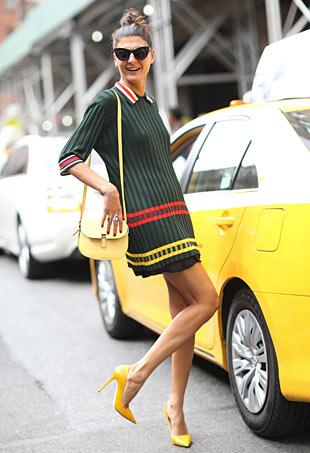 NYFW Street Style Giovanna Battaglia