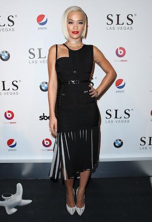 Rita Ora Herve Leger