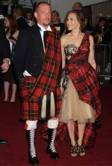 Great Scot! 13 Fashion Insiders Who Fly the Tartan Flag