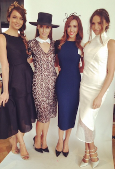 Stylish Celebrity Ambassadors Launch Sydney's Spring Racing Carnival
