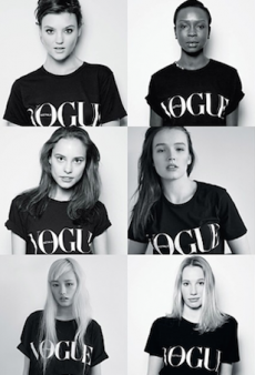 Get Keen for Vogue Fashion's Night Out 2014 with Bassike's VFNO T-Shirt