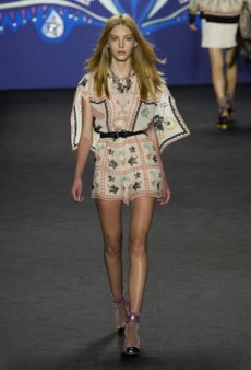 Anna Sui Spring 2015 Runway