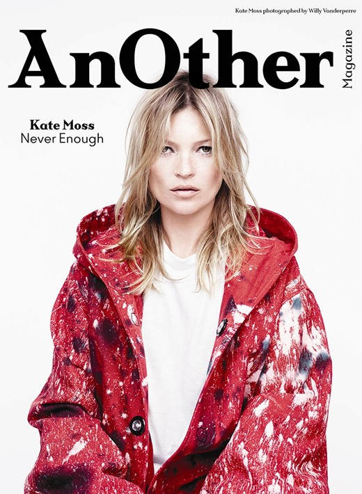 AnOther Magazine Fall 2014 Kate Moss