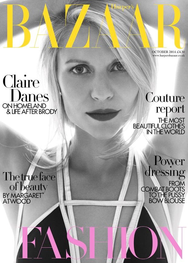 UK Harper's Bazaar Oct 2014 Claire Danes