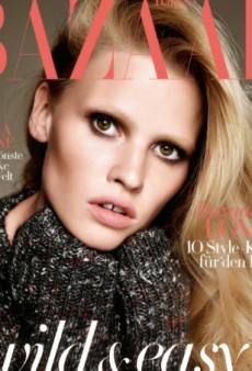 Lara Stone Impresses Forum Members on Harper's Bazaar Germany Cover (Forum Buzz)