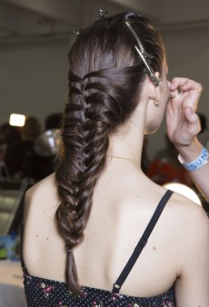 Hair Trendspotting: It's All About Braids at NYFW