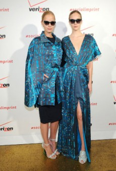 Christian Siriano and Verizon Wireless Debut the First-Ever #SocialImprint Garments