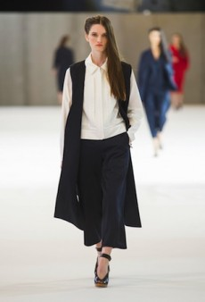 Christophe Lemaire Spring 2015 Runway