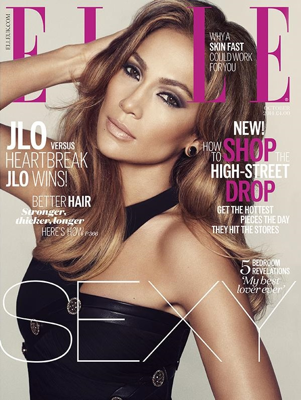 UK Elle Oct 14 Jennifer Lopez