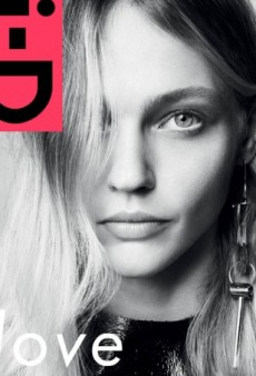 Sasha Pivovarova's i-D Cover Is 'the Best One in a Really Long Time' (Forum Buzz)