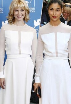 Style Showdown: January Jones and Caroline Issa Tone It Down in BOSS and More Matching Celebs