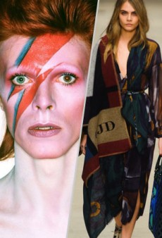 Glass Slippers, Burberry Capes and David Bowie: The Love List