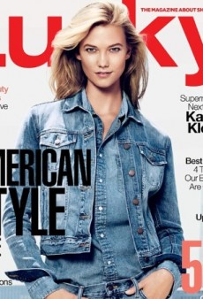 Karlie Kloss Has Denim Overload on Lucky Magazine's October Cover (Forum Buzz)