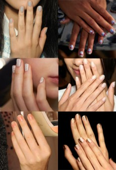 10 Minimal Nail Art Looks from the Spring 2015 Runways to DIY Now