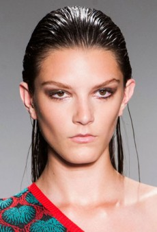 Backstage at NYFW: Beach Babe Beauty at Sophie Theallet Spring 2015
