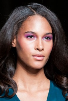 Trendspotting: Purple Eyeshadow in New York and London