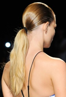Beauty Trendspotting at NYFW: Sporty Ponytails