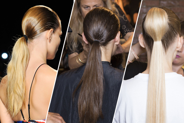 Ponytails at Alexander Wang, Prabal Gurung and Cushnie et Ochs, Spring 2015