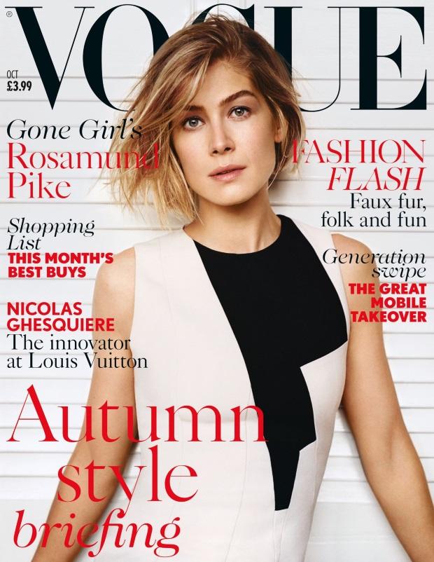 UK Vogue October 2014 Rosamund Pike