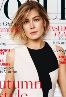 First Time for Everything: Rosamund Pike Is UK Vogue's October Cover Star (Forum Buzz)