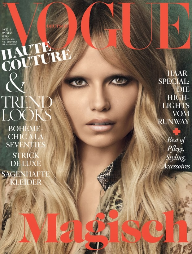 Vogue Germany Oct 14 Natasha Poly