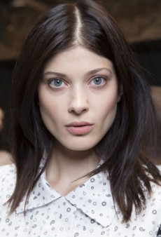Backstage at NYFW: New Take on Surfer Girl Hair and Makeup at Yigal Azrouël