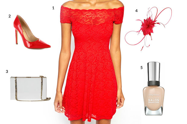 Get the Look: Jennifer Hawkins' Red-on-Red Race Wear
