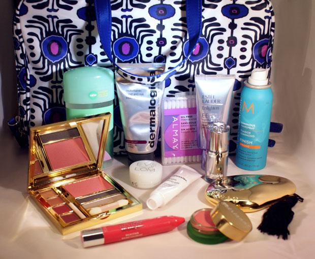 A Peek Inside Our Makeup Bag, In Honor of #NationalHandbagDay