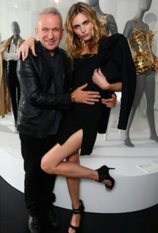 Andreja Pejic Makes her Public Debut, Surprises Jean Paul Gaultier for his Melbourne Exhibition
