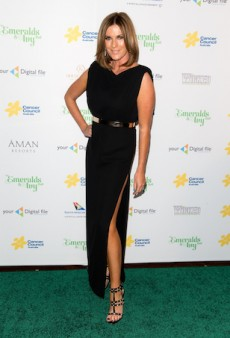 Stars Shine in All-Black Ensembles at Cancer Council's Emeralds and Ivy Ball in Sydney