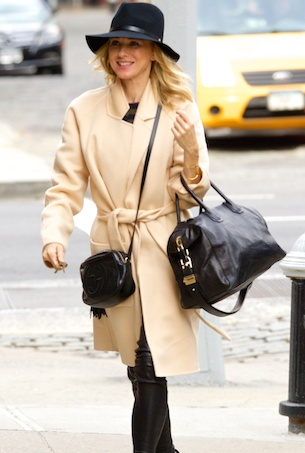 Naomi Watts spotted out in New York City