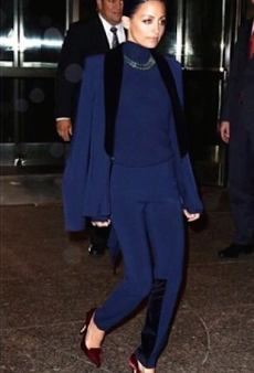 Nicole Richie Brings Killer Outfit Together with the Help of a Bec & Bridge Turtleneck