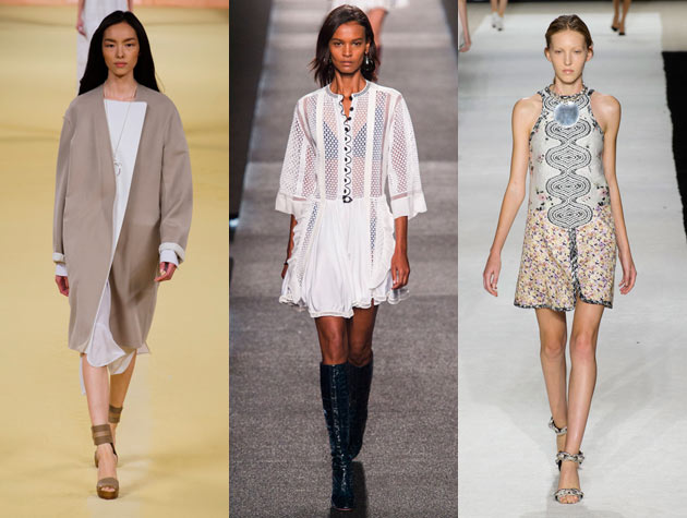 2015 Spring Fashion Shows PFW Spring Hits